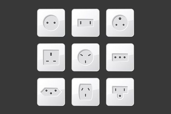 Electric Outlet Sockets Set @creativework247