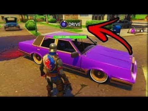How To Drive Cars In Fortnite Battle Royale New Working Glitch
