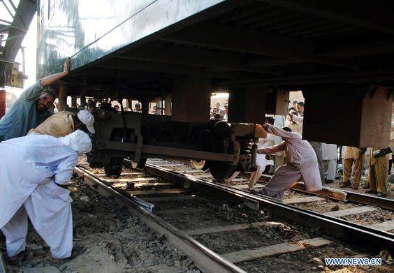 Train Accident In Karachi : 16 Killed, 40 Injured -  https://goo.gl/tvZTYk #World