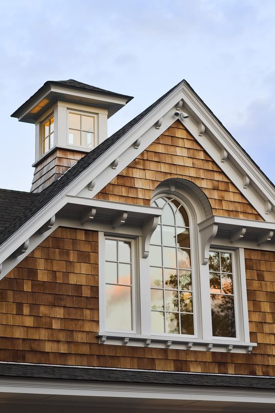 Cedar shingles architectural shingles and style on pinterest for Pictures of houses with cupolas