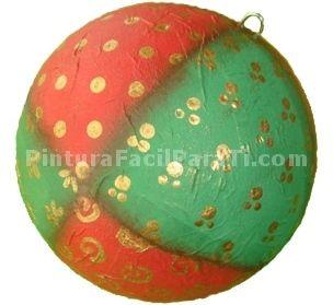 Bolas de icopor navide os buscar con google bolas - Manualidades con bolas de navidad ...
