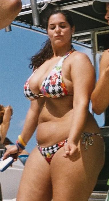Should Chubby girl beach kinky