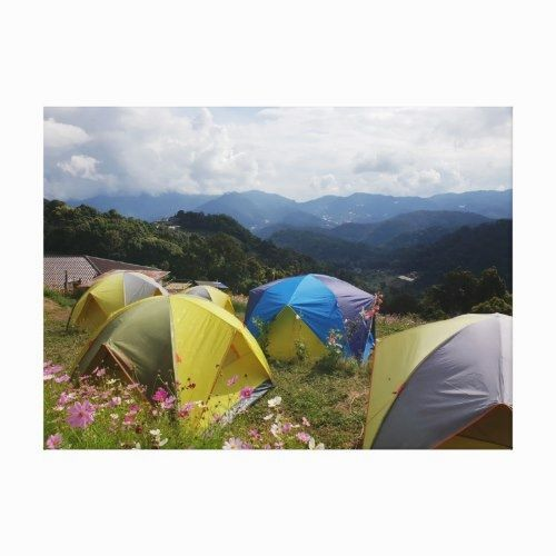 Camping In Chiang Mai Thailand Canvas Print Chiang Mai Hawaii Canvas Art Chiang Mai Thailand