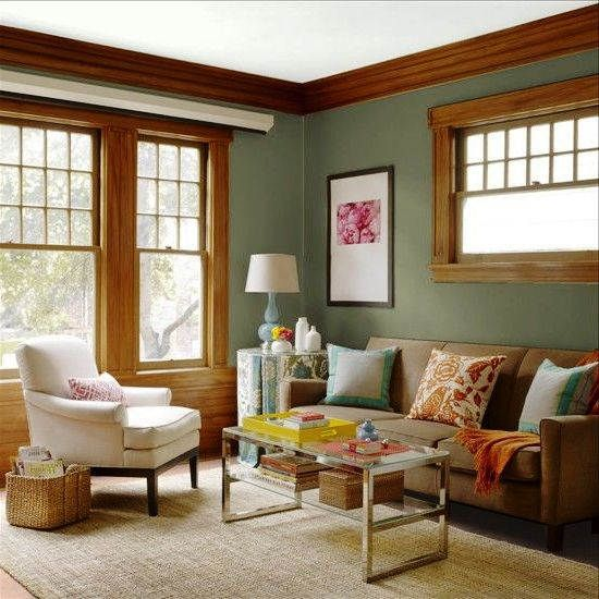 Kombinasi Warna Cat Ruang Tamu Klasik Yang Sejuk Ruangan Warna Rumah