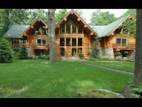 Awesome For Sale Beautiful Log Cabin Located In Deer Lake