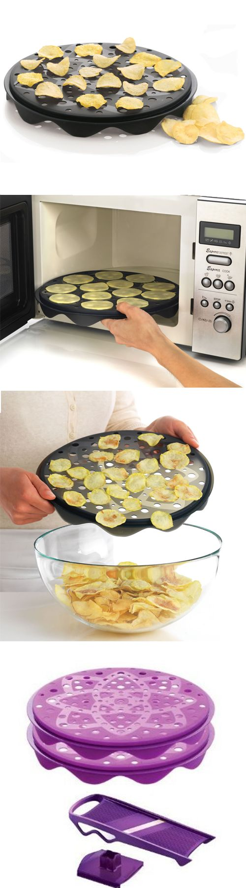 Oil Free Chips Maker Set- america's test kitchen says it is great