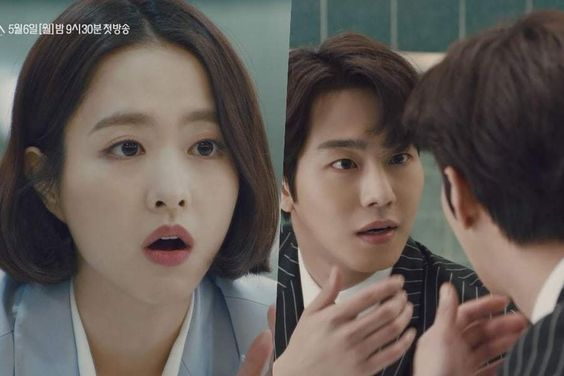 "Watch: Park Bo Young And Ahn Hyo Seop Can't Believe What They See In The Mirror In ""Abyss"" Trailer"