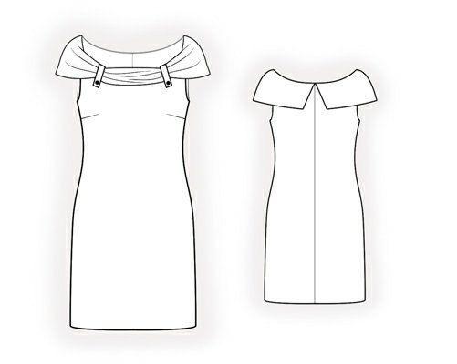 4061 Patrón PDF vestido de coser ropa de las mujeres por TipTopFit en Etsy