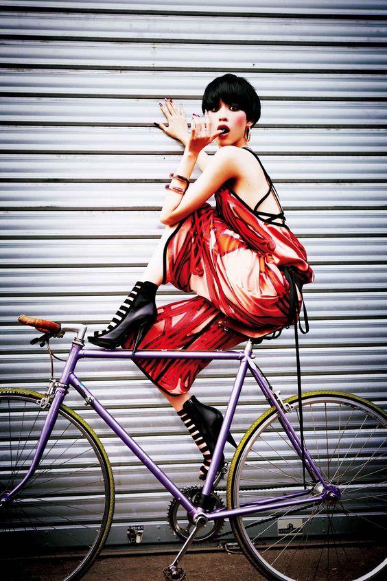 Kiko Mizuhara for Vogue Japan February 2014 | Popbee - a fashion, beauty blog in Hong Kong.