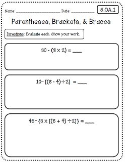 Printables Common Core 5th Grade Math Worksheets common cores worksheets and 5th grades on pinterest core math grade edition at