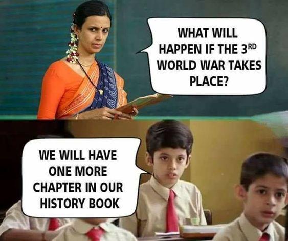 Student and teacher conversation memes