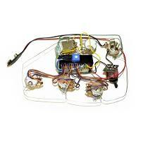 Bartolini 5.3AP Compact Preamp 2-Pickup 5-Knob 1-Switch 3-Band Vol P/P A/P - Vol - Treb - Mid - Bass - Mid Sw
