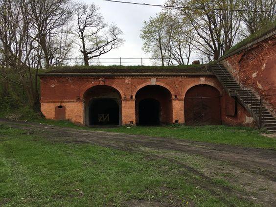 Строения внутри крепости. Фото: Vladimir Shveda