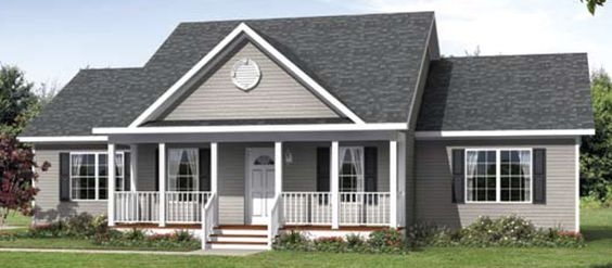 Dormers on a ranch house modular homes nc cbs for House plans with dormers and front porch