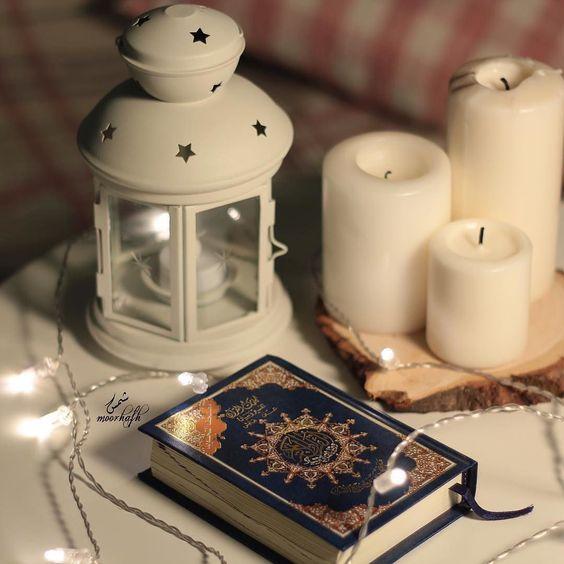 الذين يقرؤون القرآن طوال عامهم هم أهل القرآن الذين هم أهل الله وخاصته ابن جبرين رحمه الله اللهم اجعلنا منهم ㅤ Tea Lights Candle Holders Candles