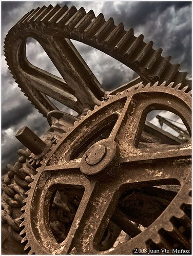 I see my mind as a well oiled machine made up of gears and cogs moving in perfect sync. Every once and a while one or two of the gears slip out of place and i do something stupid or make a bad judgment. But God is my tinker he puts it back where it was and oils it up good as new. Not to say Im a psycho lol