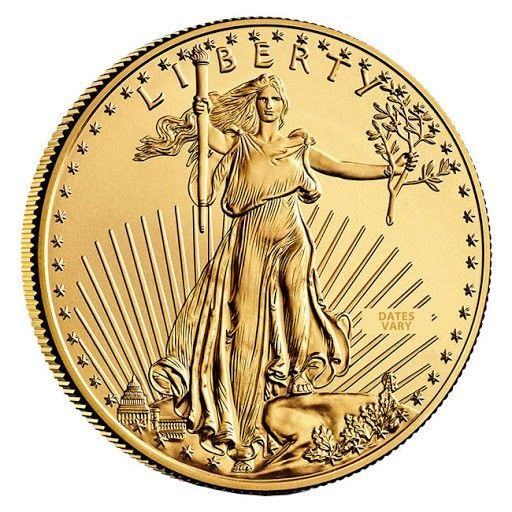 1 2 Oz 25 Gold American Eagle Coin Date Varies In 2020 Eagle Coin Gold American Eagle Gold Coin Price