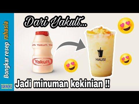 Minuman Yakult Kekinian Mi Kult Enak Dan Mudah Bikinnya Youtube Resep Juice Resep Minuman Minuman