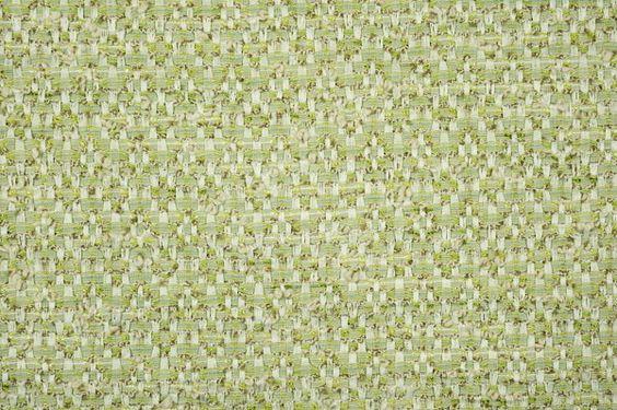 Créez une jolie veste ou une robe et son manteau assorti avec le tissu Chanel vert et écru référence AHE1648