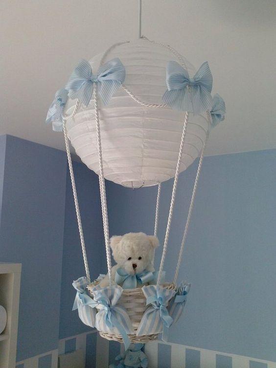 L mpara globo para la habitaci n del beb paso a paso es - Lampara habitacion bebe ...