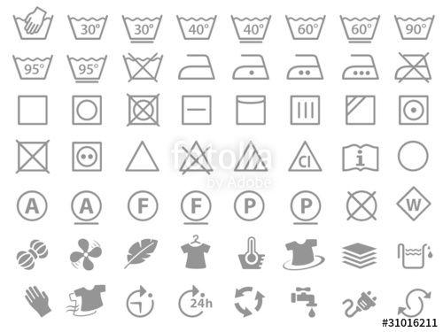 Bildergebnis Fur Waschezeichen Waschezeichen Waschsymbole Wasche