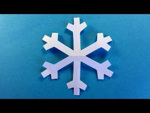 schneeflocken basteln weihnachtsdeko basteln diy weihnachten weihnachtsbasteln youtube - Diy Weihnachtsdeko Basteln
