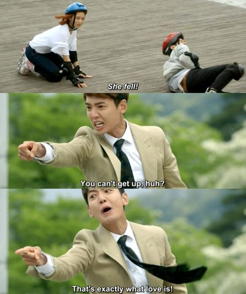 Laughed so hard at this scene. Falling For Innocence (aka Beating Again) kdrama