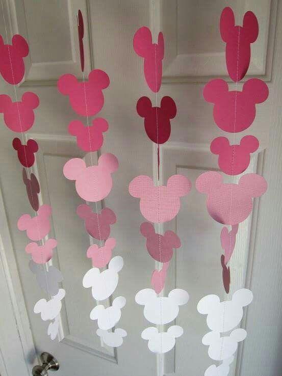 Cortinas de minnie mouse para una fiesta tem tica - Telas cortinas infantiles ...