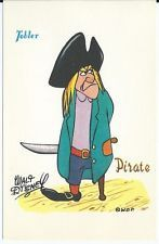 CPA - Carte postale TOBLER Walt-Disney  - Pirate - Postcard