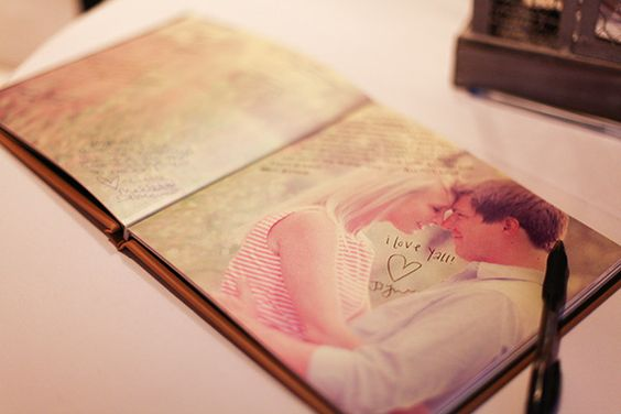 great idea for guest book
