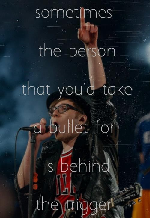 Fall out boy, Save rock and roll and Lyrics on Pinterest
