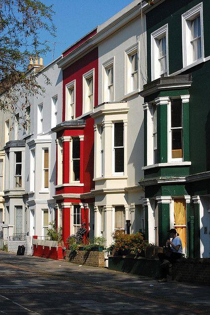Portobello Road Houses, London