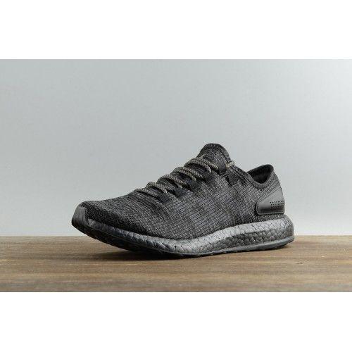 2017 Adidas Pure Boost Ltd triple Zwart s80702 Heren schoenen