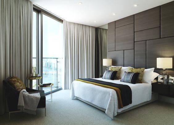 20 modern contemporary masculine bedroom designs modern contemporary contemporary and bedrooms - Recessed Panel Bedroom 2015