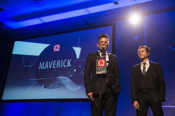 Interpol at the Xperia Access Q Awards 2014