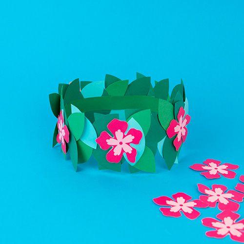 Couronne de fleurs Vaiana