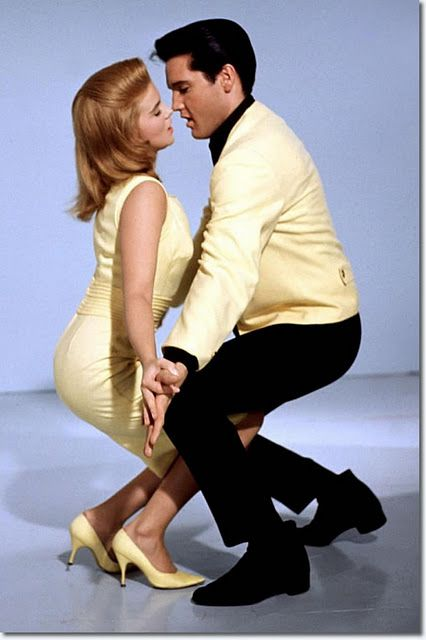 """Elvis and Ann Margret in Viva Las Vegas 1964 #elvis #presley-----------  Yes, It's An """"Elvis Sings"""" Movie, But It's, By Far, His Best Of This Genre!!  And, Ann Margaret SIZZLES!!  The Chemistry Is So, So Apparent!!  Rent It Soon!!"""