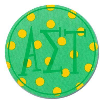 Alpha Sigma Tau Round Sorority Stickers