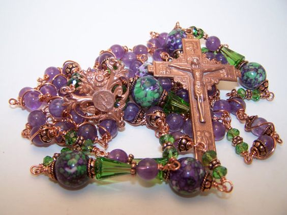 Unbreakable Rosary COPPER COLLECTION Rosary Of Our by robertd5198, $365.00