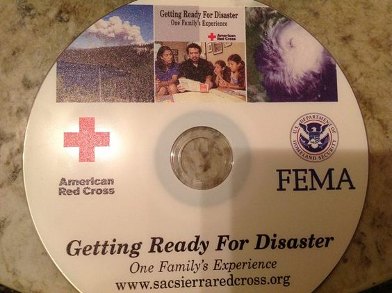 FEMA disk given to school children. Department of Homeland Security Teaching Kids To Go To FEMA Camps In a Time of Crisis - Article:
