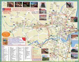 Singapur Karta Na Hotela Singapur Interaktivnaya Karta I Karty