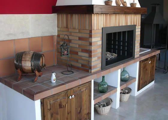Cocinas Rusticas Modernas De Obra Diseo Moderno Cocina Obra