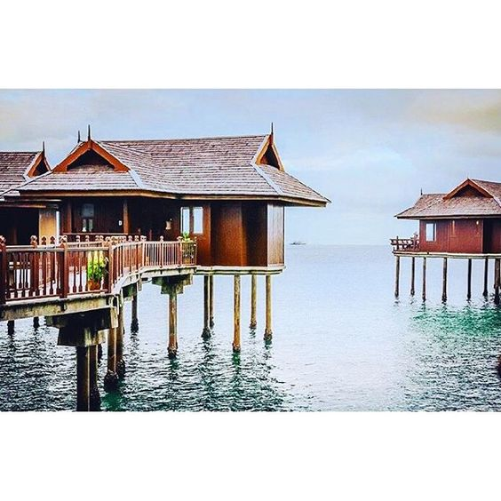 Pangkor Laut ($182-$450, great honeymoon packages, overwater villas, FREE spa treatments, FREE transfer to island)