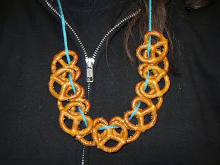 Pretzel Necklaces for Beer Tastings @ SugarSkull Industries