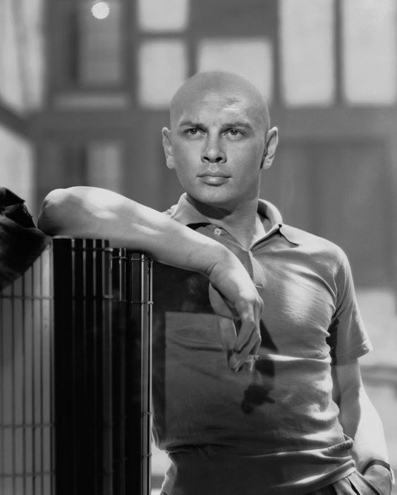Yul Brynner (July 11, 1920 – October 10, 1985), Russian-born United States-based film and stage actor.