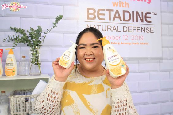 I choose Betadine Natural Defense