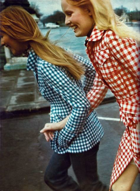 Tan Giudicelli for Mic Mac, Elle France - May 1971, Photo by Peter Knapp: