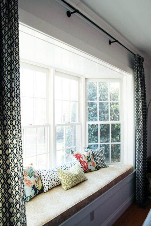 Pin On Dream Home #window #treatment #for #bay #windows #in #living #room