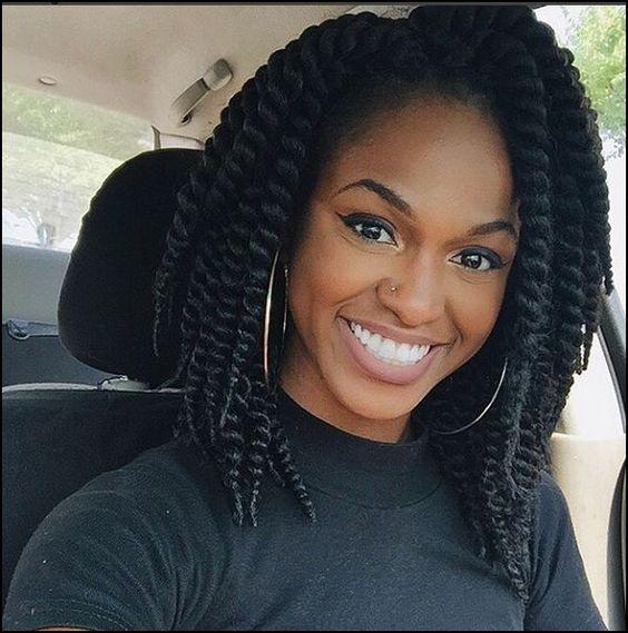 Enjoyable Havana Twists And Bobs On Pinterest Short Hairstyles For Black Women Fulllsitofus