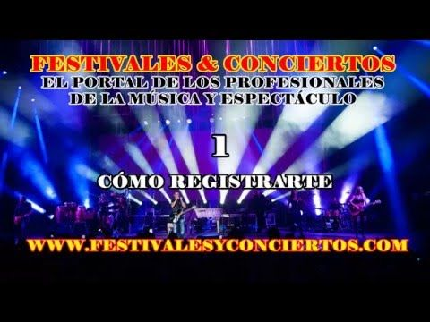 Festivales y Conciertos : Cómo registrarte - http://music.tronnixx.com/uncategorized/festivales-y-conciertos-como-registrarte/ - On Amazon: http://www.amazon.com/dp/B015MQEF2K